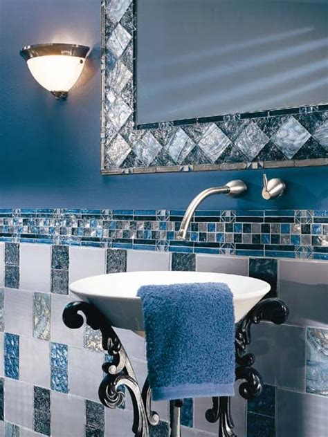 blue tile bathroom ideas bathroom tile design ideas