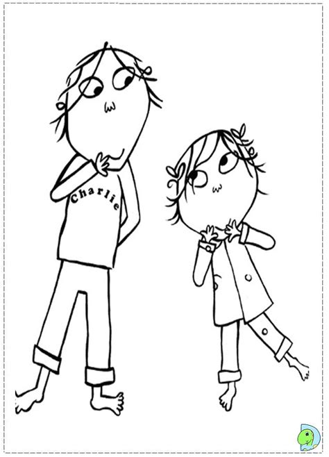 charlie and lola coloring pages az coloring pages