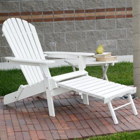 easy to big adirondack chair with pull out ottoman