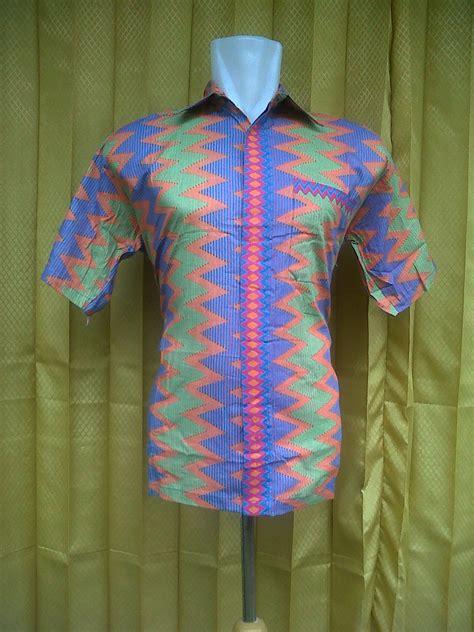 Baju Batik Kemeja Batik Rang Rang 1670 Murah grosir kemeja rangrang murah pripoen batik pekalongan