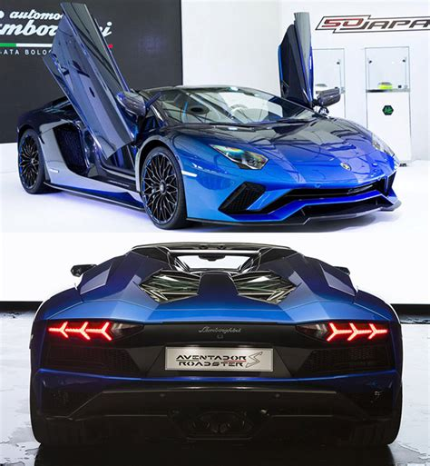 lamborghini aventador s roadster 50th anniversary japan price lamborghini aventador s roadster 50th anniversary edition unveiled in japan techeblog