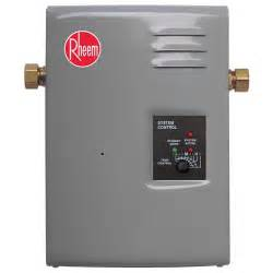rheem electric rte 13 tankless point of use water heater