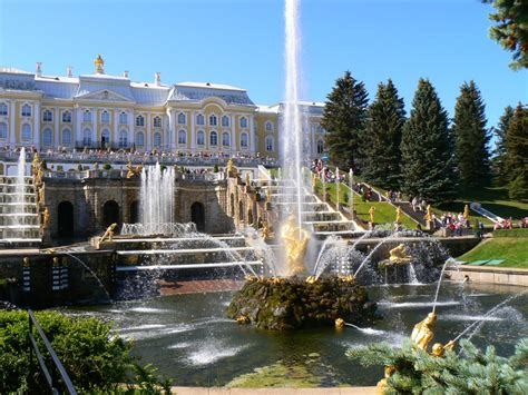 grand cascade peterhof jigsaw puzzle in waterfalls