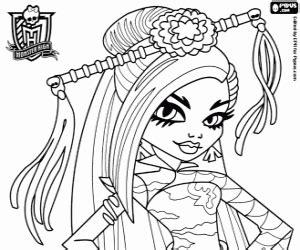 Skelita Calaveras Juegos De Monster High Para Colorear Imprimir Y Pintar