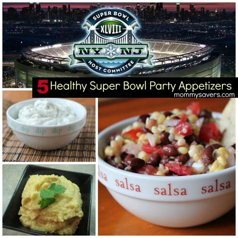five healthy super bowl appetizers mommysavers
