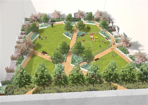 davis landscape architecture st luke s square landscape