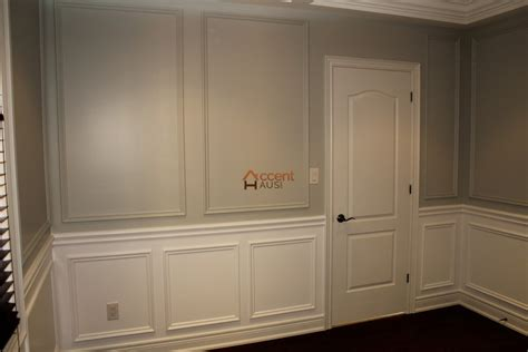 Frame And Panel Wainscoting Wall Paneling Wainscoting Accent Haus