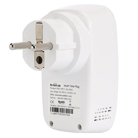Broadlink Stop Kontak Smart Wifi Timer Eu Sp3 Broadlink Stop Kontak Smart Wifi Timer Eu Sp3 White Jakartanotebook