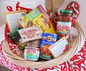 gift basket ideas meal gift baskets