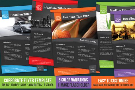 free templates for a5 flyers corporate flyer template a5 flyer templates on creative