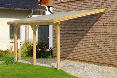 single lean to or freestanding timber carport diy timber supported lean to roof kit 6m wide 3m long
