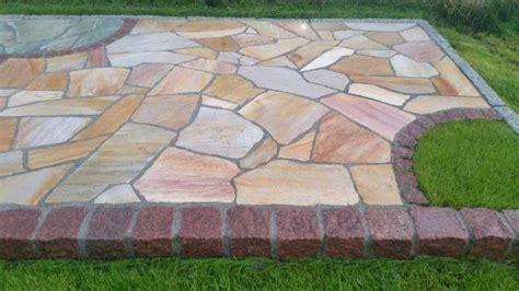 billige fliesen kaufen polygonalplatten gelb geostones natursteine