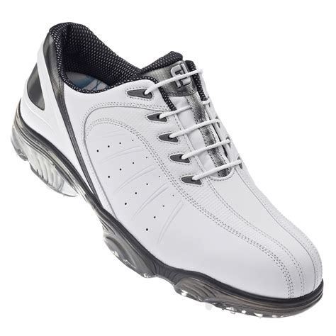 footjoy sports golf shoes footjoy mens fj sport golf shoes white silver white 2013