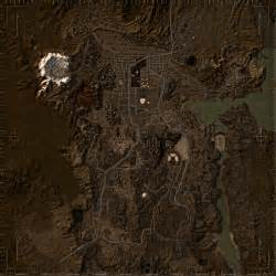 Map Of Fallout New Vegas by Realistic World Map At Fallout New Vegas Mods And Community
