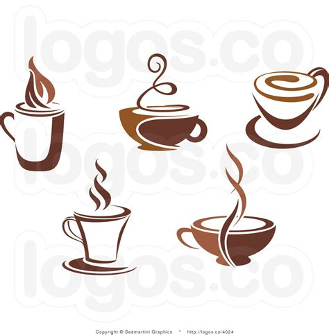 coffee cup royalty free coffee cups collage logo by seamartini