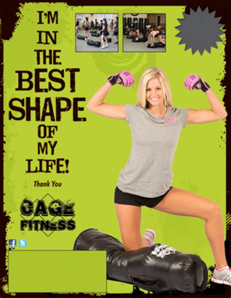 my biography exercise best shape of my life cage fitness