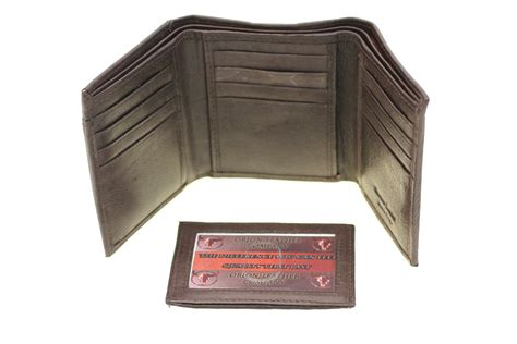 Pull Out Leather by S Trifold Wallet Pull Out Id Cover Genuine Leather 2