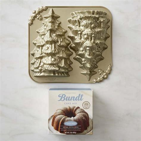 nordic ware christmas tree cake pan nordic ware tree cake pan williams sonoma vanilla bundt 174 cake mix williams sonoma