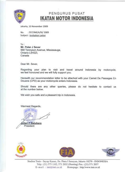 business visa invitation letter template usa sample