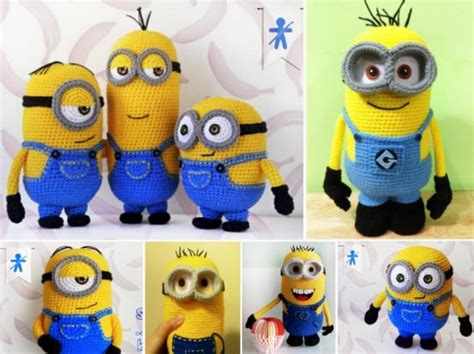 pattern crochet minion minion free crochet the whoot