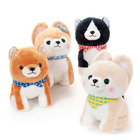 Mameshiba San Kyodai Komoriuta Plush Collection Big mameshiba san kyodai reunion plush collection big tokyo otaku mode shop