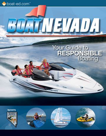boating license nevada nevada s official boating safety course and online boating