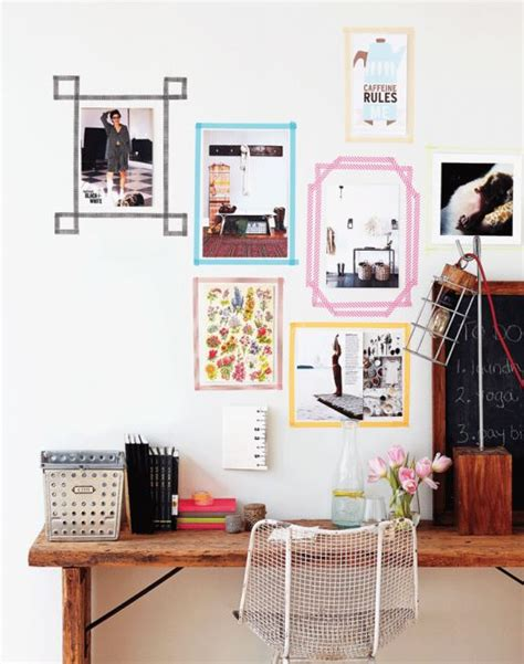 how to put photos on wall without tape frugal framing 10 ways to display artwork without