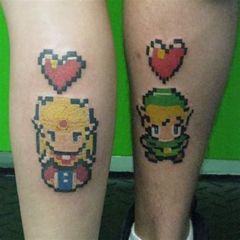zelda couple tattoos a and link best ideas gallery