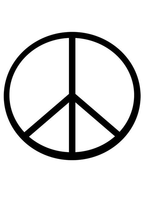 imagenes simbolos paz dibujo para colorear s 237 mbolo de la paz img 19188