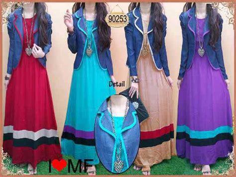 Dress Kstun Rayon Alessa salsabeela muslimah attire hairstyle gallery