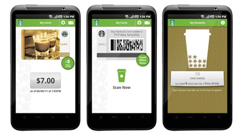 starbucks app for android starbucks unveils mobile payment app for android gadgetmania