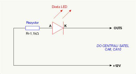 dioda led do baterii zr 243 b to sam sygnalizacja czuwania systemu alarmowego za pomocą diody led systemy alarmowe