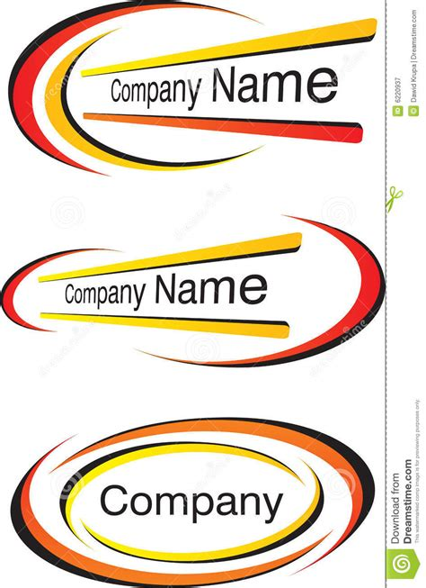 corporate logo templates corporate logo templates royalty free stock photography