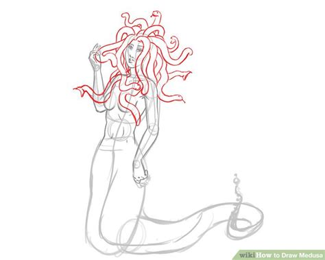 doodle how to make medusa how to draw medusa 8 steps with pictures wikihow