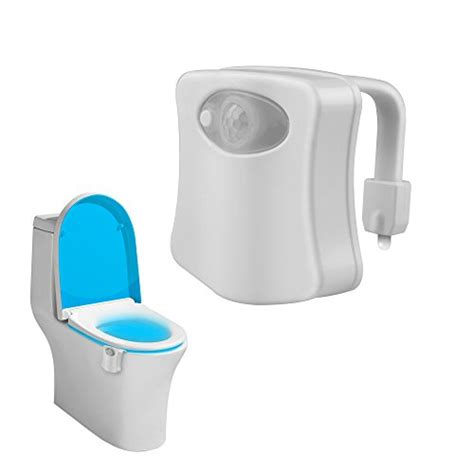 bathroom nightlight toilet night light airsspu colorful motion activated water