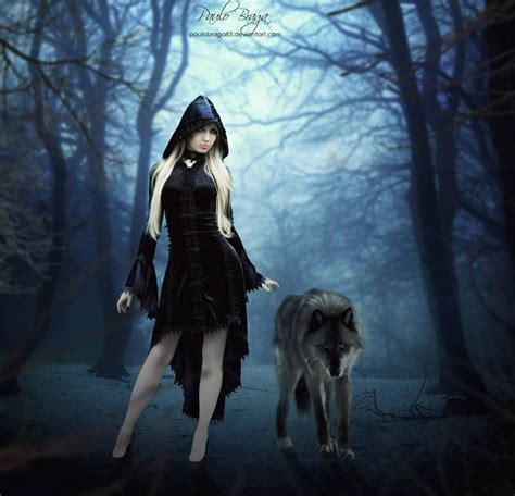 tutorial dance wolf the lady and the wolf by paulo braga photoshop creative