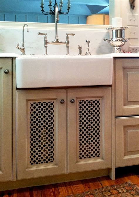 Laser cut design into Cabinet Door Panels   Tara's Kitchen