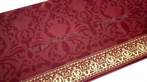 Karpet Masjid Royal Tebriz Liniaji Impor Turki karpet masjid 2 al husna pusat kebutuhan masjid