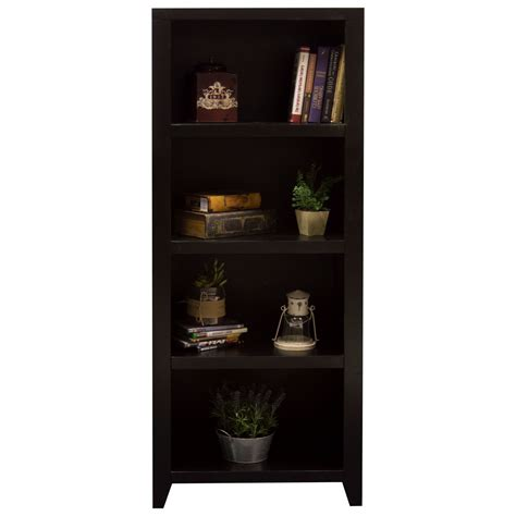 walden book cases legends furniture walden 4 shelf bookcase pier efo