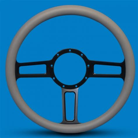 billet color steering wheel launch billet aluminum color spokes