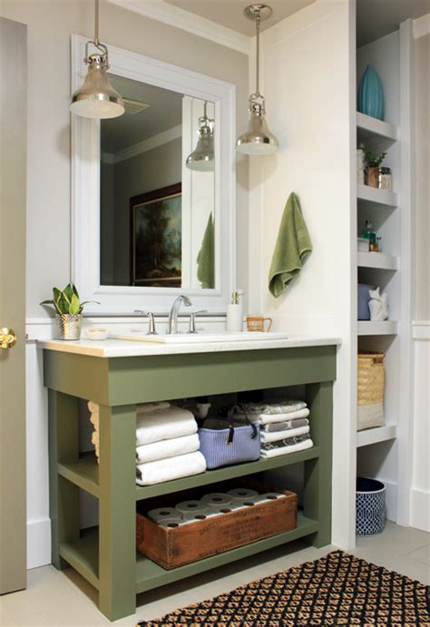 bathroom vanity shelving ideas 16 renovations under your sink that will wow