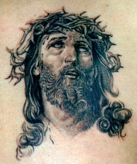 tattoo design jesus face jesus tattoos askideas com
