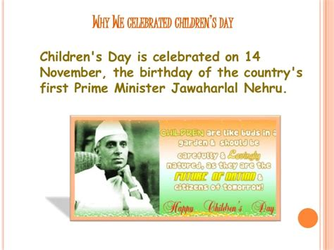 why is s day celebrated children s day celebration