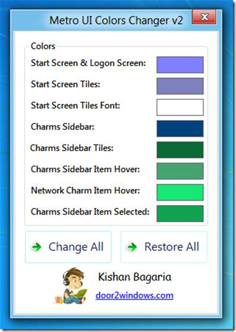 how to change color on windows 8 how to change colors of windows 8 metro ui elements