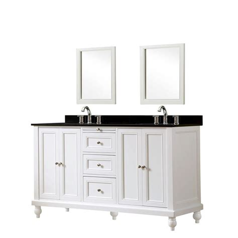 direct vanity sink classic 60 in vanity in white with