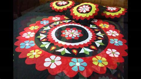 Handmade Applique - handmade applique bedsheet