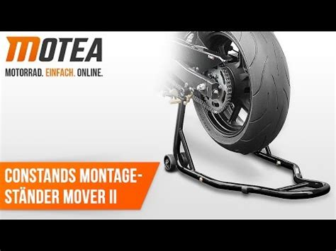 Motorrad Montageständer Hinterrad Constands Universal Racing Schwarz by Montagest 228 Nder Videolike