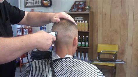 mens haircuts greensboro nc super high tight military cut power cut youtube