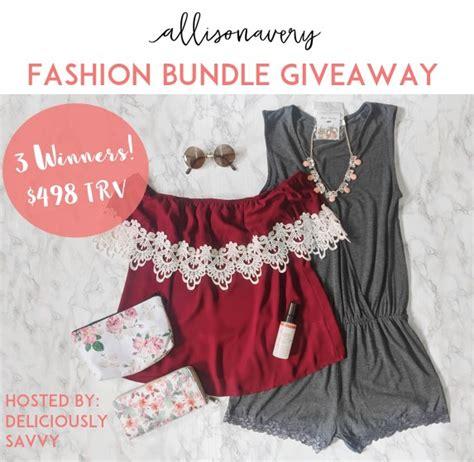 Fashion Giveaways - fashion bundle giveaway event work money fun