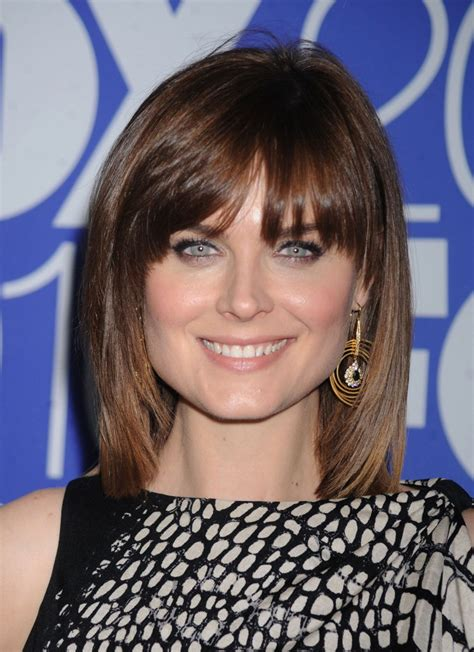 where to start bangs 25 medium hairstyles for girls with straight hair